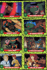Teenage Mutant Ninja Turtles Trading Cards - Topps - 29 assorted cards 1989 TMNT