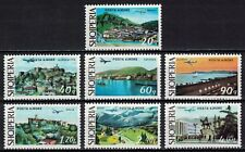 Albania 1975 _ Air Mail - City Pictures _ Full set - MNH**