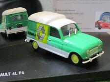 RENAULT  4L F4 R4L MOTOCULTURE 1/43 NOREV 511007 voiture miniature de collection