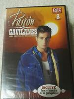 PASION DE GAVILANES DVD 8 NUEVO PRECINTADO INCLUYE FOTOS Y BIOGRAFIAS EXTRAS