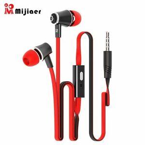 Langsdom JM21 Stereo Earphones 3.5MM In-Ear Earbuds Super Bass Headset RED