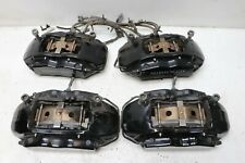 Aston Martin V8 Vantage 2008 Black 4 Piston Front Rear Brake Caliper Set J156