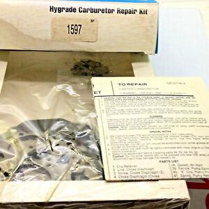 Hygrade 1597 Carburetor Repair Kit For Carter 2 BBL BBD Chrysler Dodge Plymouth