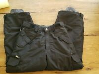 Turbine Boy's Rodeo Snow Pants Black worn 1x!  Size Medium EUC