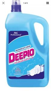 5L Deepio P&G Professional Washing Up Liquid  Grease Buster Catering