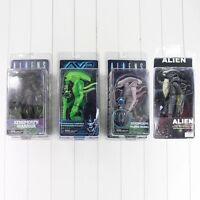 Alien vs. Predator Action Figur NECA Xenomorph Albino Mortal Kombat Sammlung Neu