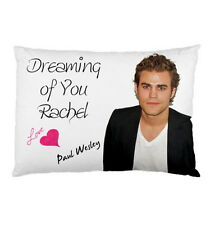 PAUL WESLEY STEFAN from THE VAMPIRE DIARIES Personalized custom pillow case