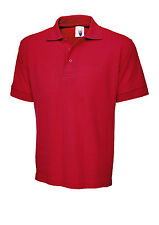 Uneek Ultimate Cotton Polo Shirt 100% Ringspun Combed Cotton (UC104)