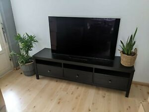 IKEA Hemnes TV Bank Sideboard schwarzbraun