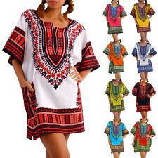 Short Sleeve Tunic Multi-Colored Regular Tops & Blouses for Women