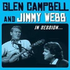 GLEN CAMPBELL/JIMMY WEB- IN SESSION  CD + DVD POP INTERNATIONAL NEU