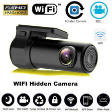 Smart Dash Cam 170 Degree Mini HD 1080P WiFi Car DVR Camera Monitor G-sensor