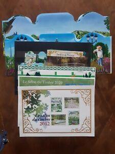22 blocs et 6 Timbres France salon du timbre neufs XX faciale 122 euros