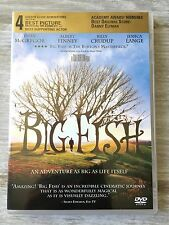 Big Fish Dvd Ewan McGregor Jessica Lange 2003