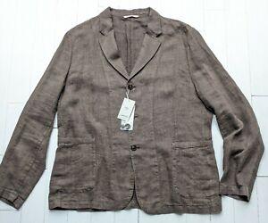 *NEW* PURE LINEN Jacket size XXL by MANGO - Fabulous & STYLISH - Cost £200 BNWT