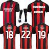 20-21 Football Kits Soccer Club Short Sleeve  Kids Jersey Sport Activewear