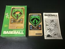Mattel Baseball Pocket Electronic Handheld Vintage Game 1978 Works w/ Box