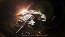 Stargate Atlantis SG-1 3D printed unpainted 30cm model of Daedalus Starship