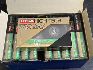 10 VISA (ICM Switzerland) 90 Audio Cassette Tapes