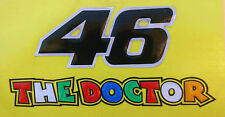 Reflective Universal Resin Sticker The Doctor 46 MotorSport H: 5.8cm W: 11cm