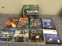 Lot Of Playstation 1, 2, & 3 Games-Teen Titans, Ready To Rumble, RPG +