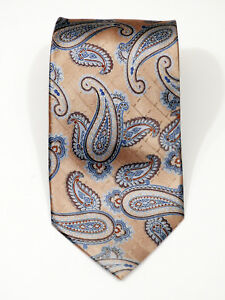 """BEAUTIFUL NWOT JOS A BANK EXECUTIVE COLLECTION PAISLEY SILK TIE L 59"""" X W 3.5"""""""
