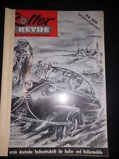 Zeitschrift Roller Revue Messerschmidt Kleinwagen Microcar 1955 Rollermobile