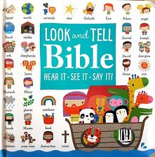 The Look and Tell Bible: Hear It - See It - Say It (Children's Board Book) NEW
