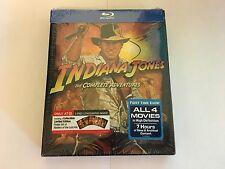 Indiana Jones The Complete Adventures Blu-ray (Target Exclusive)