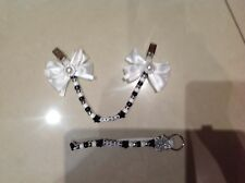 pram charm and nappy bag keyring