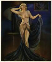 Vintage Irene Patten 1935 Harem Girl Art Deco Pin-Up Print Glamorous Grace Fine+