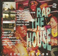 Rap The House Compilation Cd Partial Sealed 1991 Discomagic Records