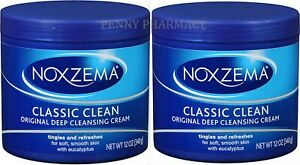 Noxzema CLASSIC CLEAN Original Deep Cleansing Cream 12 oz (340 g)(pack of 2)