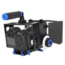 DSLR Rig Camera Cage Video Follow Focus Matte Box For Nikon Camera Camcorder GW