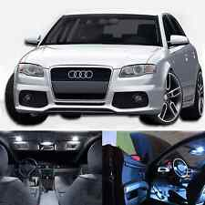 LED White Lights Interior Package Kit For Audi A4 S4 B7 2006-2008 (18 pcs)