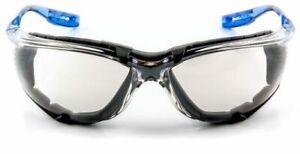 3M Virtua CCS Safety Glasses 11874-00000-20 Foam Gasket I/O Mirror AntiFog Lens