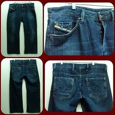 Disel Industry Men Blue Jeans Button fly size 36 x 29