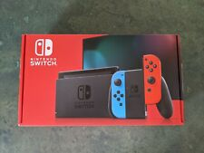 Nintendo Switch 32GB Console w/ Neon Blue & Neon Red Joy Con New! SHIPS TOMORROW