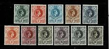More details for swaziland 1938 set p13.5x14 mounted mint