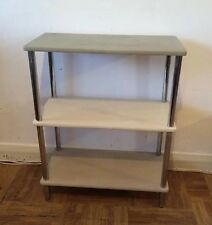 RETRO VINTAGE BOOKCASE / DISPLAY CASE / STORAGE PAINTED    THREE COLOURS