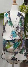 Michelle mason Floral silk dress size 4
