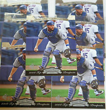 2008 Upper Deck Top Prospects #206 Russell Martin, Lot of 7