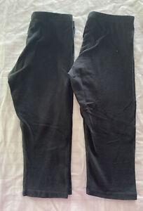 Girls Knit Capri Leggings Size6-6x by Faded Glory