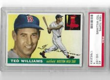 1955 Topps #2 Ted Williams Boston Red Sox PSA VG-EX 4