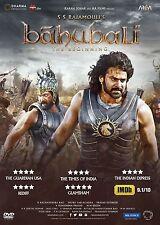 BAHUBALI THE BEGINING DVD - 2015 BOLLYWOOD MOVIE DVD / PRABHAS