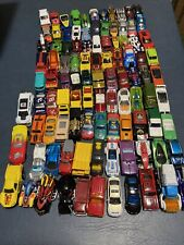 Lot Of 100 Hot Wheels, Matchbox & Other Diecast Cars, Trucks And Others