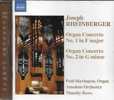 CD album: Joseph Rheinberger: Organ Concerto. Skevington. Rowe. naxos. M