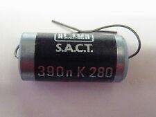S A C T Audio Precision Capacitor 390nF = 0.39uF 270V 280-394 EC16