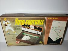 Vintage 1977 Pro Foto Football Board Game Cadaco 100% Complete