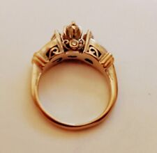 Marquise Diamonds Engagement Ring (312) 14K Yellow Gold 1.07 Ct T.W.
